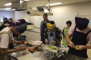 まや調理実習10